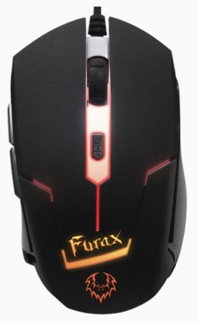 PROLiNK  Furax Gaming Optical Mouse With 7-Colour LED (2400DPI/6-Button) (PMG9002-BLK/ORG)