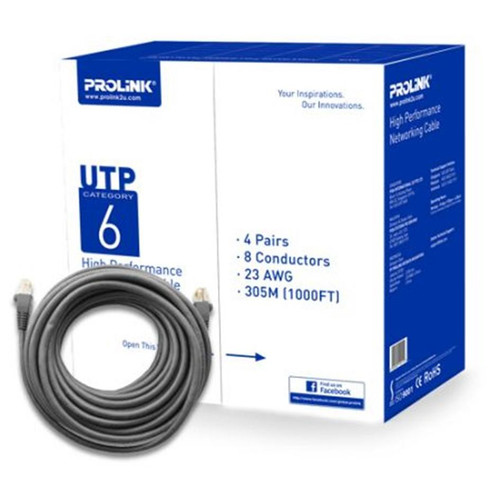 PROLiNK CAT6- GRY UTP Network Cable