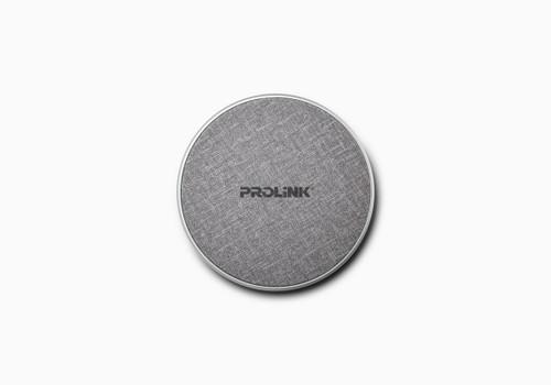 PROLiNK PQC1005-SLV 5/7.5/10W Fast Charge Qi Wireless Charging Pad Ultra Slim / Micro USB