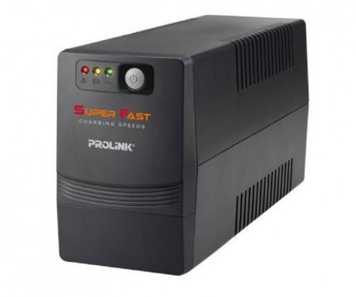 PROLiNK PRO700SFCU Enerhome 650VA Line Interactive UPS With AVR / USB Port / Super Fast Charging