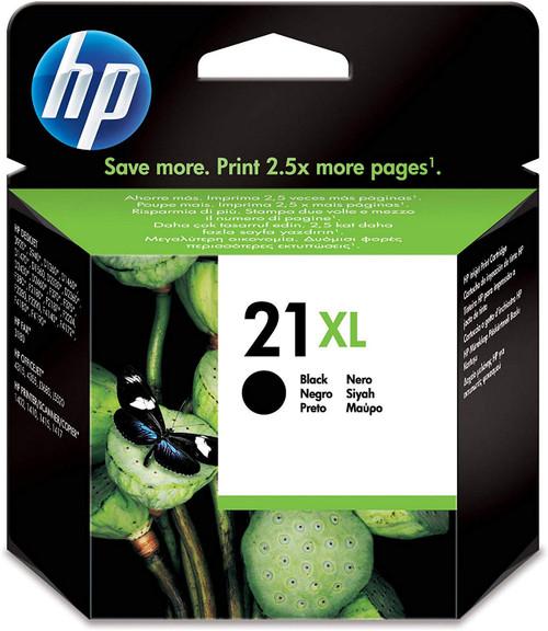 HP 21XL Black High Yield Original Ink Cartridge