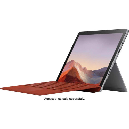 "Microsoft Surface Pro 7 MS7 12.3"" (2736x1824) 10-Point Touch Display Tablet PC, Intel 10th Gen Core i3, 4GB RAM, 128GB SSD, Windows 10, Platinum (Latest Model)"