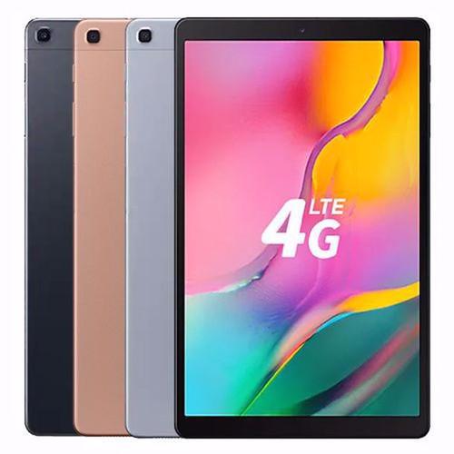 "Samsung Galaxy Tab A 10.1"" (2019, WiFi + Cellular), 32GB, Full HD Corner-to-Corner Display, 32GB 4G LTE Tablet & Phone (Makes Calls) GSM Unlocked SM-T515"