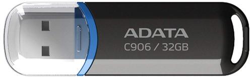 Adata C906 32GB USB 2.0 Black (ADUFDC906-32G-R-BK)