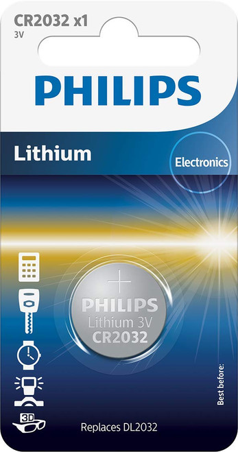 Philips Battery Mini Cell - CR2032