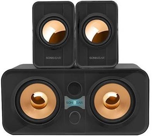 SonicGear Morro 2200 2.1 USB Speakers - Black (MORRO2200B)
