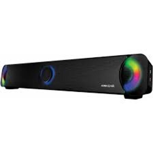 Sonicgear U300 Soundbar 7 Pulsating LED Colours (U300BLK)