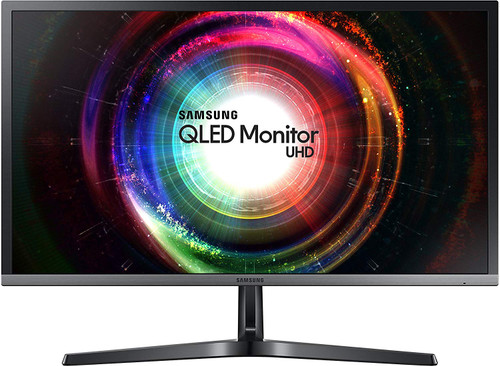 "Samsung UH750 28"" QLED 4K UHD 1ms LED-Lit FreeSync Monitor (LU28H750UQMXZN) - 2 Years Warranty"