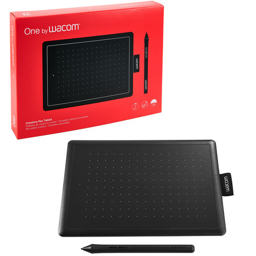 WacomCTL472K1AOnebyWacomGraphic Drawing Tablet for Beginners, Small