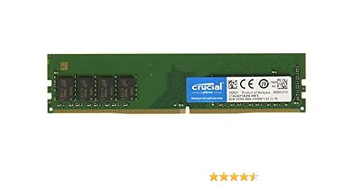 Crucial 4GB DDR4 2666Mhz 1.2V 288 Pin CT4G4DFS8266 Udimm