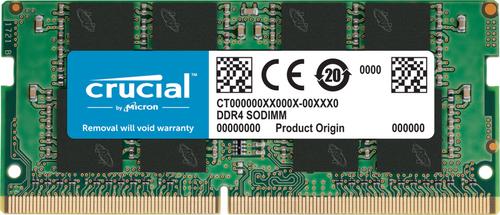 Crucial 16GB DDR4 2666Mhz 1.2V 260 Pin CT16G4SFD8266-Sodimm