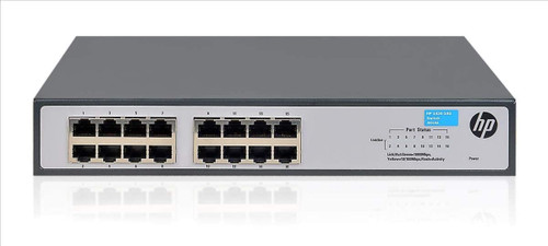 HP OfficeConnect Gigabit Ethernet Switch 16 Ports 10/100/1000 Base-T - Twisted Pairs