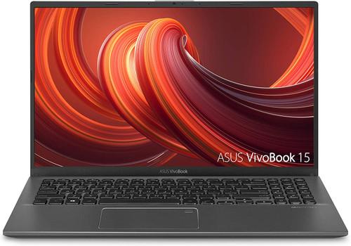 "ASUS VivoBook 15 Thin and Light Laptop, 15.6"" FHD, Intel i3-1005G1 CPU, 8GB RAM, 128GB SSD, Backlit KB, Fingerprint, Windows 10 Home in S Mode, F512JA-AS34"