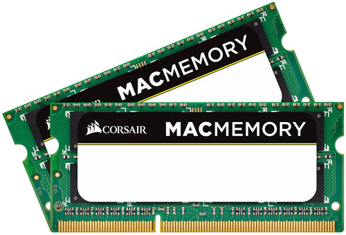 Corsair CMSA8GX3M2A1066C7 Apple 4GB DDR3 1066 (PC3 8500) 204-Pin DDR3 Laptop SO-DIMM Memory 1.5V, Beige