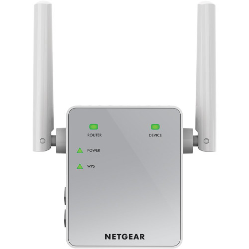 Netgear EX3700 AC750 WiFi Range Extender Dual Band 2.4 & 5GHz with 1*10/100Mbps LAN