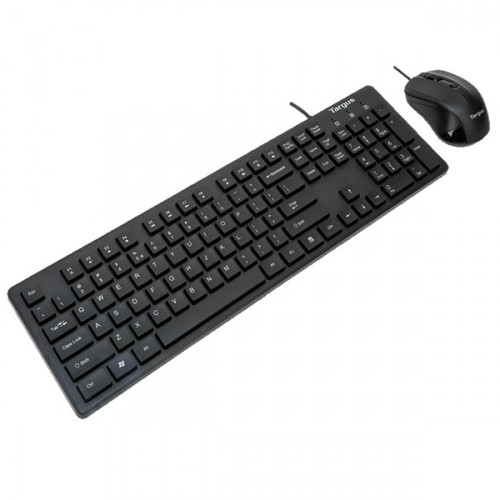 Targus KM600 AKM600AP Wired USB Keyboard and Mouse Combo