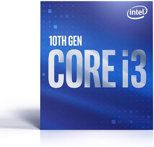 Intel Core i3-10100 Desktop Processor 4 Cores up to 4.3 GHz  LGA1200 (Intel 400 Series Chipset) 65W, Model Number: BX8070110100