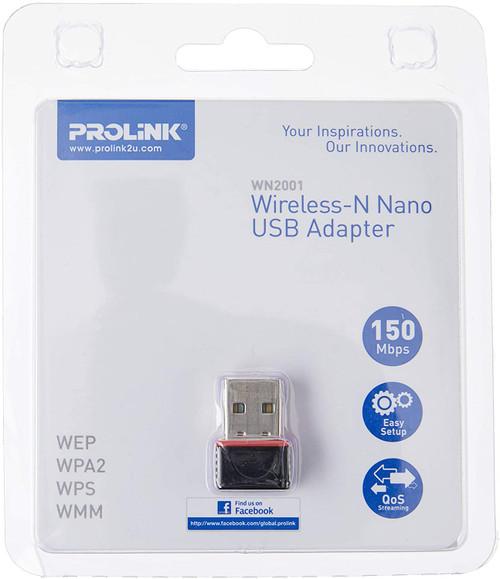 PROLiNK WN2001 Wireless-N Nano USB Adapter