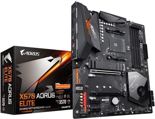 Gigabyte X570 AORUS Elite (AMD Ryzen 3000/X570/ATX/PCIe4.0/DDR4/USB3.1/Realtek ALC1200/Front USB Type-C/RGB Fusion 2.0/M.2 Thermal Guard/Gaming Motherboard)