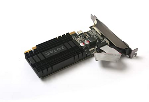 ZOTAC GeForce GT 710 2GB DDR3 Zone Edition Graphics Card with GeForce Experience