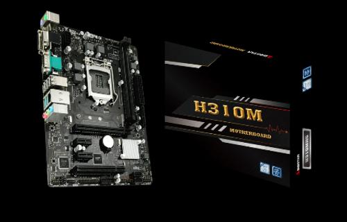 Biostar H310MHG Supports 8th & 9th Gen Intel® Core™ Processor VGA/HDMI/DVI