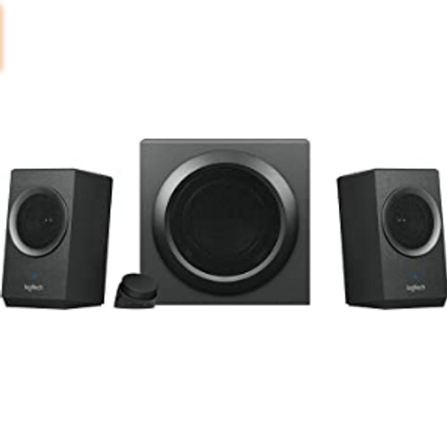 Logitech Z337 Bold Sound Bluetooth Wireless 2.1 Speaker System for Computers, Smartphones and Tablets [40W] - 1 Year Warranty