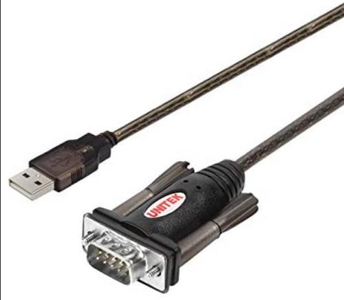 UNITEK Y-105  1.5M USB to Serial Converter