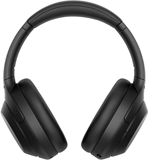 Sony WH-1000XM4 Wireless Industry Leading Noise Canceling Overhead Headphones with Mic for Phone-Call and Alexa Voice Control, Black