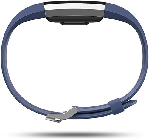 Fitbit Charge 2 Heart Rate + Fitness Wristband, Blue, Small