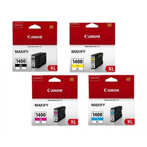 Canon PGI-1400XL High Yield Black, Yellow, Magenta, Cyan Ink Cartridge