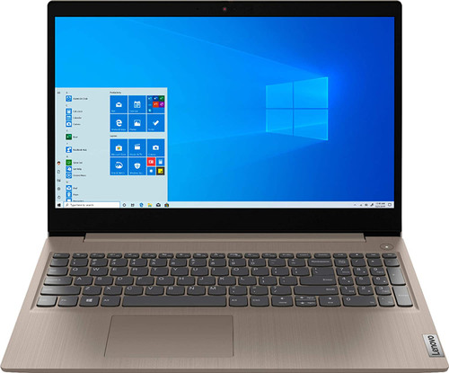 """Lenovo IdeaPad 3 Touch, Intel 10th Gen i3-1005G1 1.2GHz, 8GB DDR4, 256GB SSD, UHD Graphics, Webcam, BT, 15.6"""" (1366X768) Touch, W10s, Almond Color + Free Mouse"""