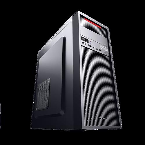 Alcatroz Futura Black Red N5000 Pro ATX Case Incl Magnum Pro 225 PSU