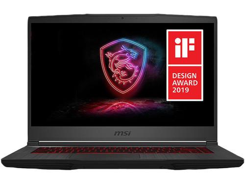 "MSI GF65 Thin 9SEXR-838 Gaming Laptop, 15.6"" 144Hz, Intel Core i7-9750H, GeForce RTX 2060, 8GB DDR4, 512 GB SSD, Windows 10 Home"