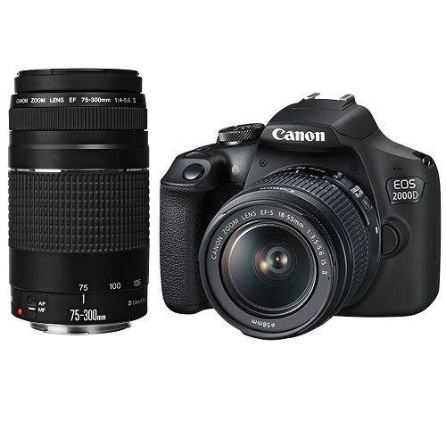 Canon EOS 2000D Double Zoom Kit