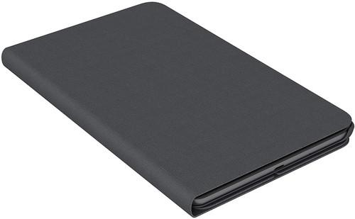 Lenovo Tab M8 Folio Case, Polycarbonate and Microfiber Material, Polyurethane Protective Film, ZG38C02862, Black