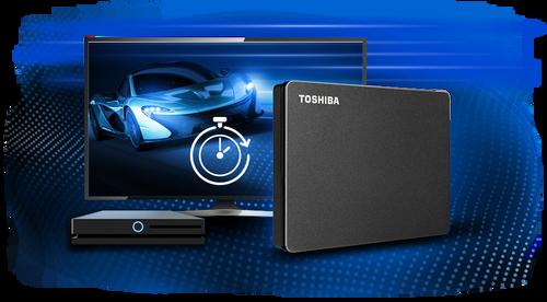 Toshiba  1TB - 2TB Canvio Gaming Portable Storage