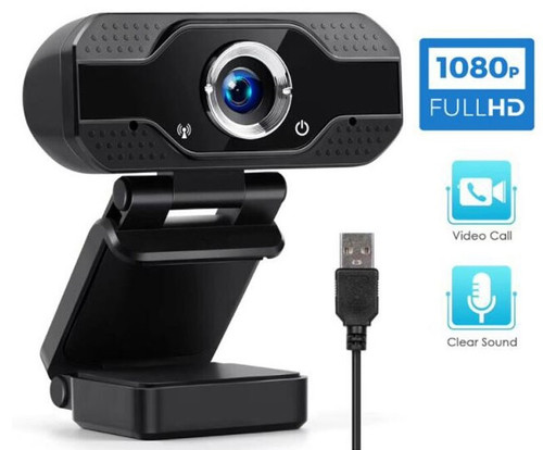 X52 HD 1080P Webcam Mini Computer PC Web Camera with Noise Reduction Microphone Rotatable Camera