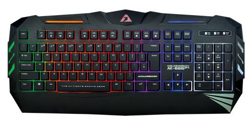 Armaggeddon Keyboard AK666 FX Spill Proof Gaming Keyboard