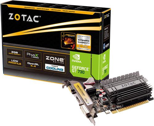 ZOTAC GeForce GT 730 2GB ZONE Edition