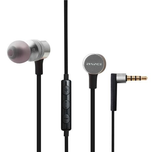 Awei ES-20TY In Ear Heavy Bass Noise Isolating with Microphone