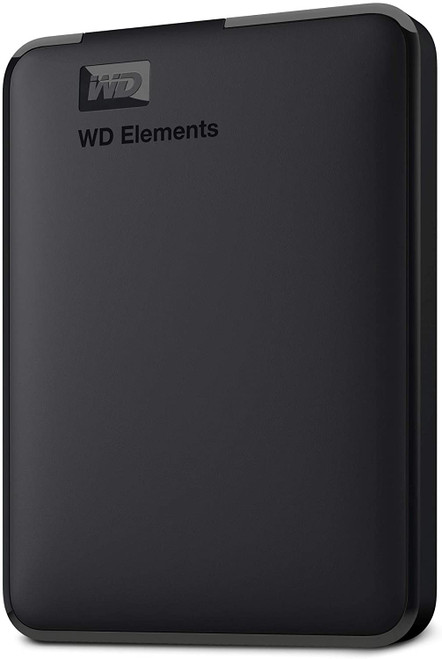WD 5TB Elements Portable External Hard Drive HDD, USB 3.0, Compatible with PC, Mac, PS4 & Xbox - WDBU6Y0050BBK-WESN