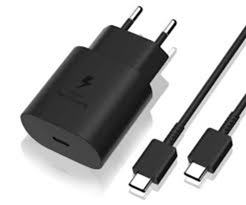 Charger S10+ (2 Pin Adapter) Type-C Fast Charging