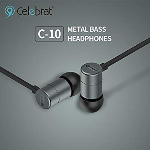Celebrat C10  Dynamic Bass Earphones