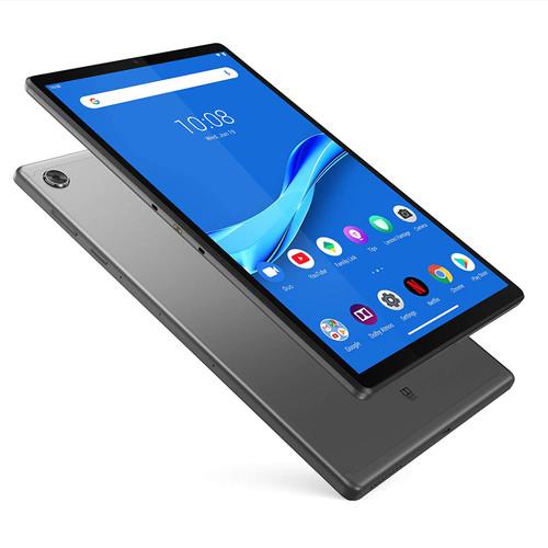 "Lenovo Smart Tab M10 FHD Plus 10.3"" Android Tablet, Octa-Core Processor, 64GB Storage, 4GB RAM, WiFi, Bluetooth, 5000 mAh Battery, 8MP Rear + 5MP Front Camera, Iron Grey"