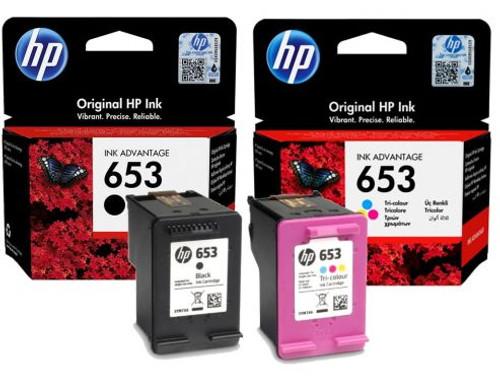 HP 653 ORIGINAL INK CARTRIDGE