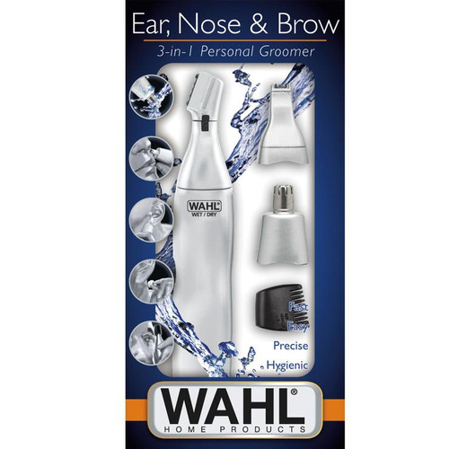 WAHL 5545-2416 3IN1 EAR, NOSE & BROW TRIMMER