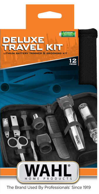 Wahl DELUXE TRAVEL KIT TRIMMER (5604-627)