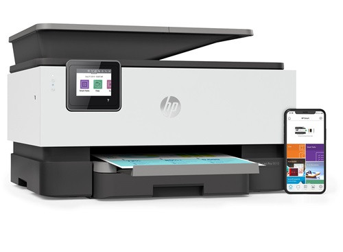 HP OfficeJet Pro 9010 A4 Colour All in one Multifunction Inkjet Printer