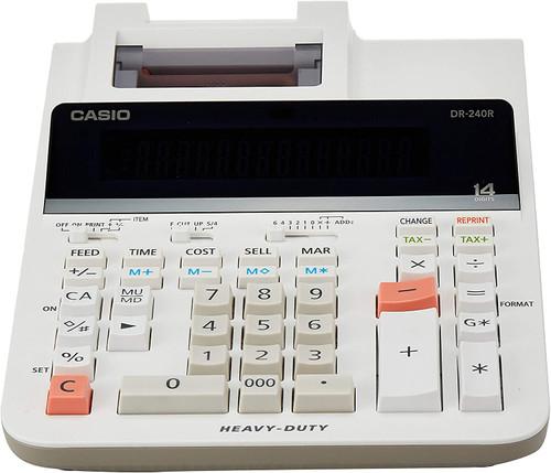 CASIO DR-240R 14 Digit Printing Calculator