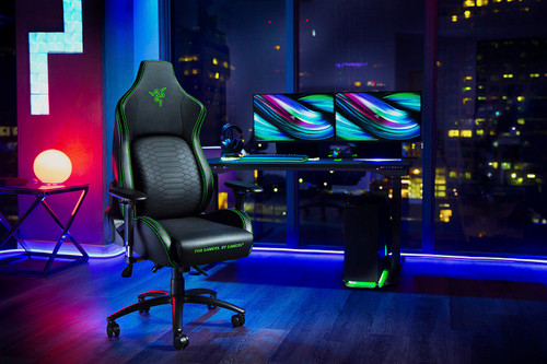 RAZER ISKUR - GAMING CHAIR WITH BUILT-IN LUMBAR SUPPORT
